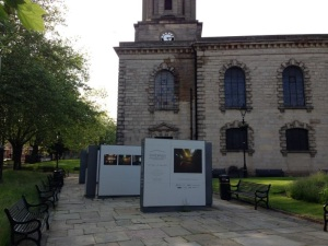 FIndings exhibition at St Paul's Square
